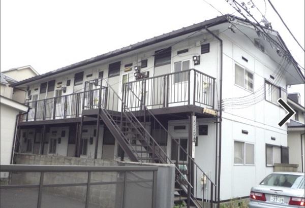 学生時代に住んでいたアパート